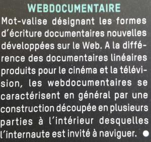 """Le webdoc, un """"mot-valise"""" ?"""
