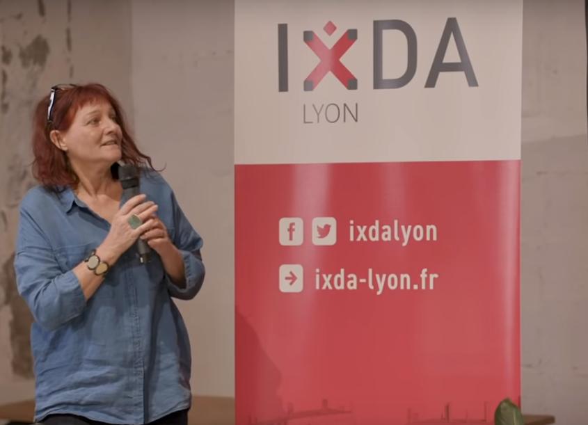 Véronique Lapierre était présente à Lyon en septembre pour une conférence sur l'inclusion dans le design.
