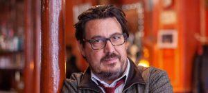 Portrait du journaliste indépendant, écrivain et documentariste David Dufresne
