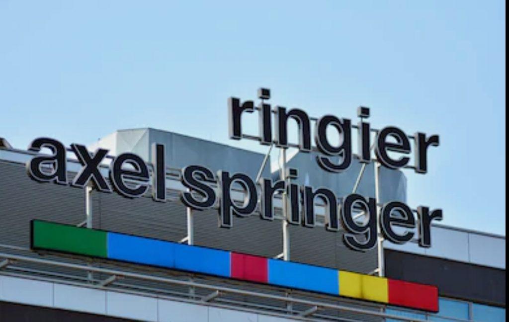 Il s'agit du logo du groupe Ringier-Axel Springer.