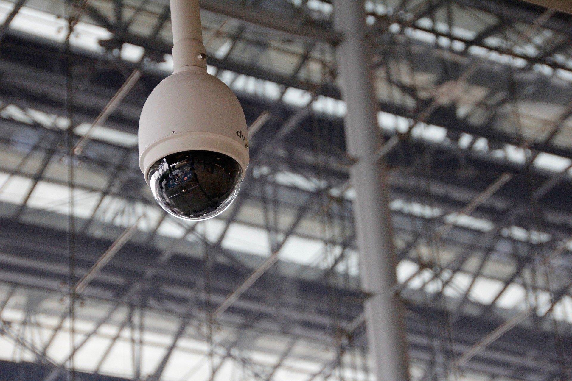 Image d'une caméra de surveillance